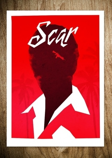 SCAR - Rocco Malatesta Posters & Prints #movie #malatesta #graphic #rocco #illustration #poster #scarface