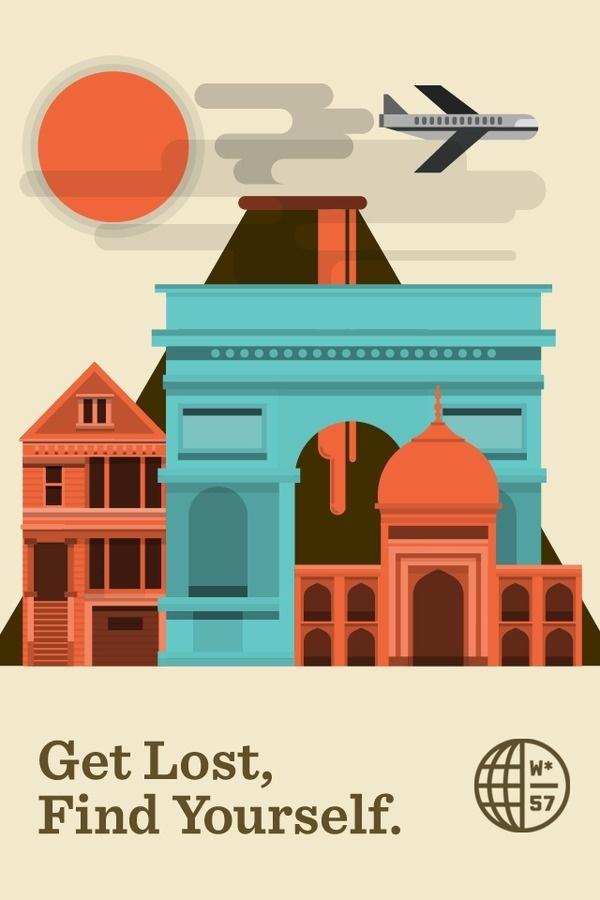 Trevor G. Rogers #illustration #travel #poster