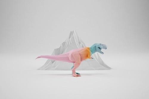 GEO A DAY #dinosaur #3d