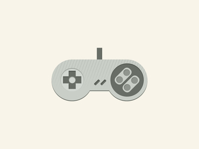 For the love of 'SNES' #controller #vector #videogame #snes #illustration #gaming #console