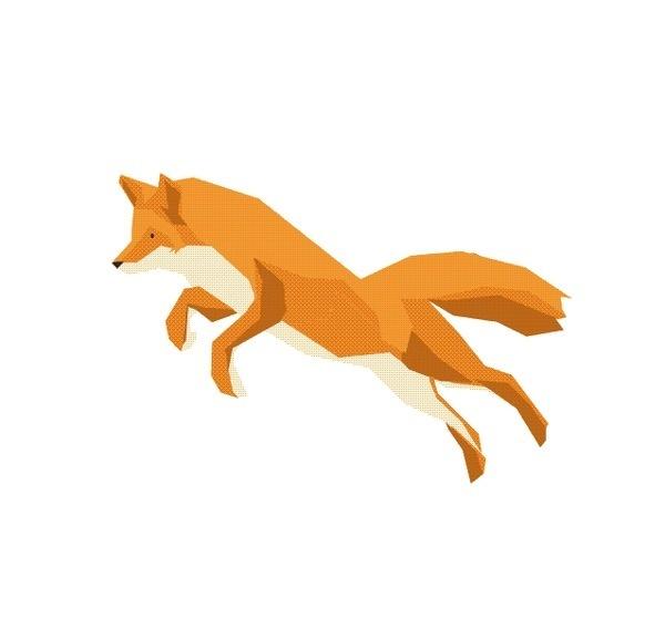 Mr Fox #vector #fox #illustration #gif #animal