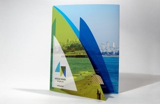 Steph Davlantes | Design + Watercolor #logos #winds #catalog #aeolus #steph #sailing #davlantes #brochures
