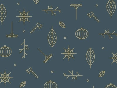 it's fall, a pattern #pattern