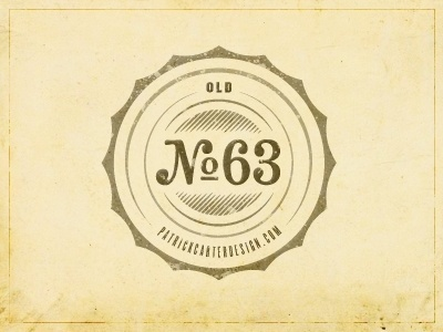 Dribbble - Personal Novelty Logo by Patrick Carter