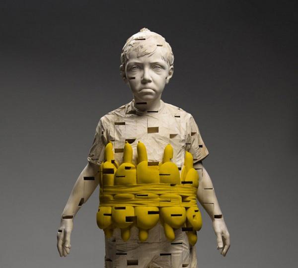 CJWHO ™ (SCULPTURES OF CHILDREN | GEHARD DEMETZ) #sculpture #crafts #design #gehard #wood #photography #art #demetz