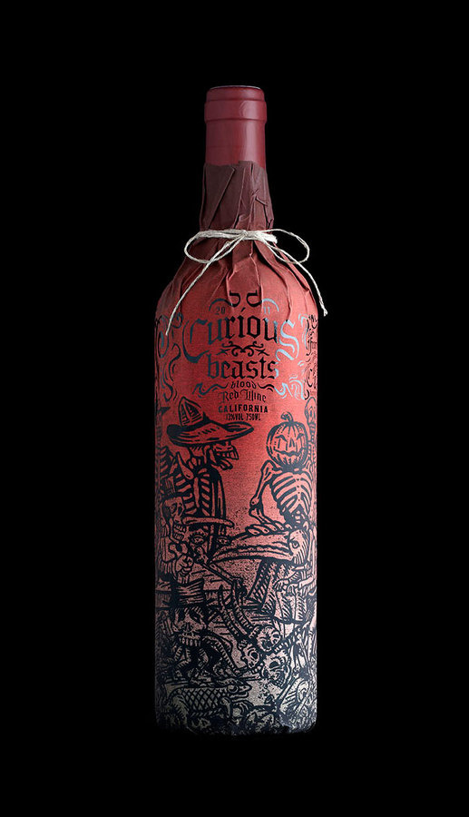 Beautiful wine bottle packaging #packaging #wine #bottle