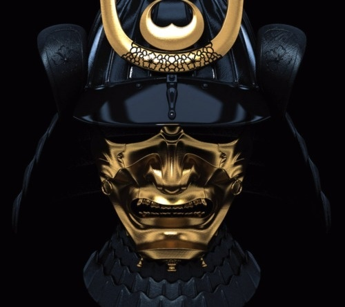 YOU'RE MY ONLY HOPE #samurai #helmet