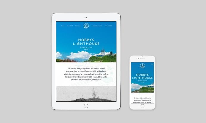 Shorthand Nobbys Lighthouse Website Responsive