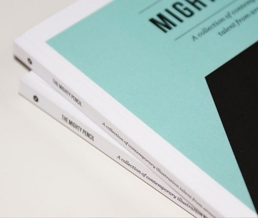 The Mighty Pencil #design #graphic #editorial
