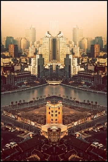 china in a mirror on the Behance Network #atelier #asia #photography #art #olschinsky