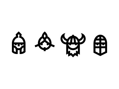 Warriors #icon #sign #picto #symbol #face #character