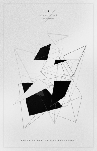 All sizes | Simple blend | Flickr - Photo Sharing! #poster #typography