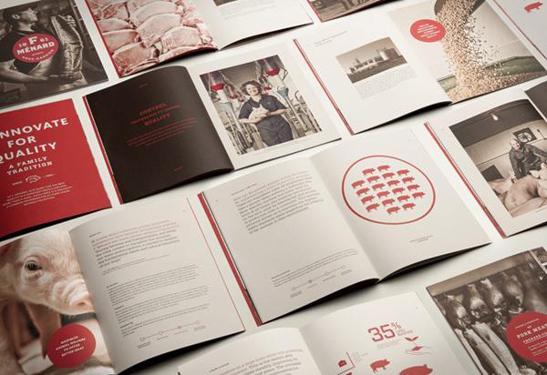 F. Ménard designed by lg2 boutique #brochure #books #branding