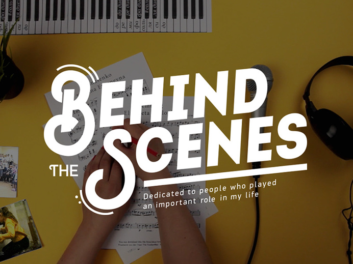 """Title Sequence """"Behind the Scenes"""""""