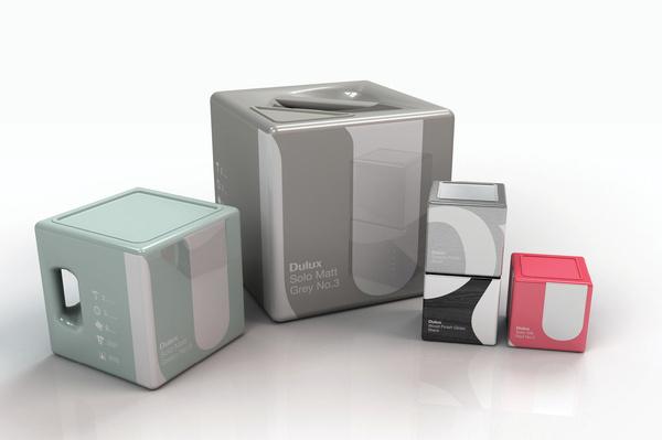 Dulux Packaging #packaging