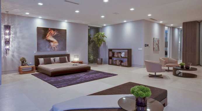 Stunning Beverly Hills House Designed By DJ Aviciiu0027s House Architects # Interior #design #luxury