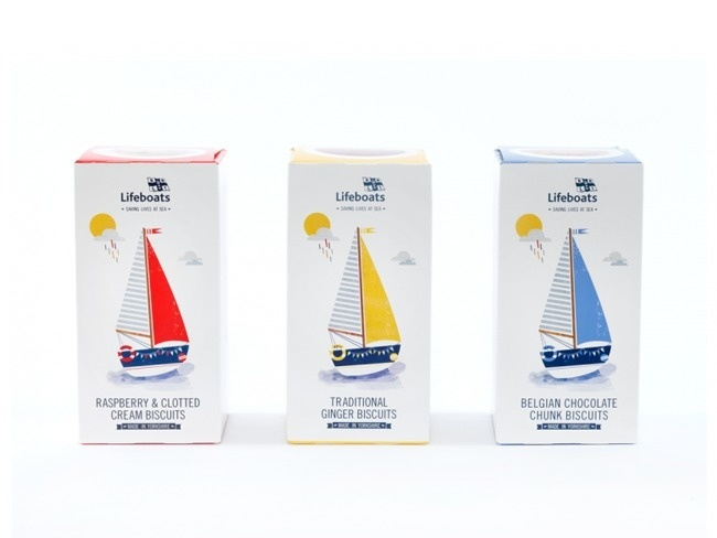 RNLI Lifeboats on Packaging of the World - Creative Package Design Gallery #packaging #identity #branding