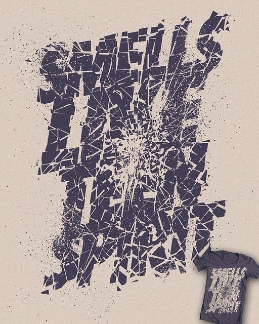 Smells Like by Vó Maria #design #clothing #textile #silkscreen