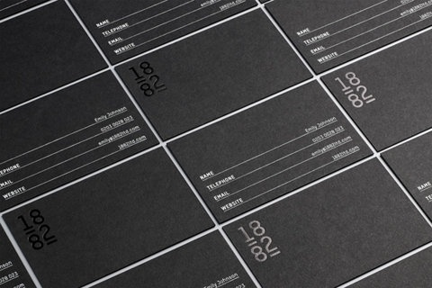FFFFOUND! #business #card #black #printing #collateral #stationery