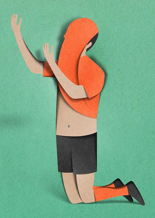 Eiko4 #illustration #paper #cuts