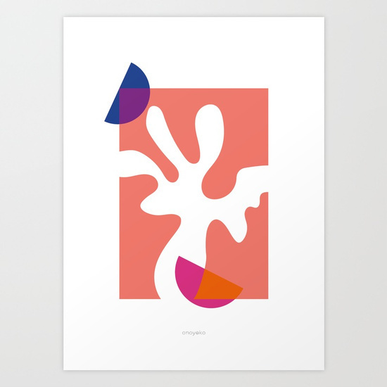 ono • ni Art Print