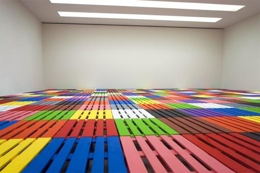 We Find Wildness #gilles #porret #color #floor #art