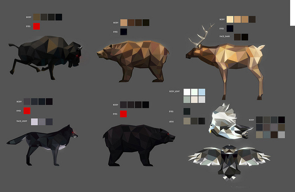http://farm6.static.flickr.com/5145/5741503444_2c5a847d2c_b.jpg #design #graphic #color #digital #illustration #art #animals