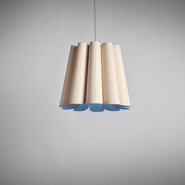 Fab.com | Renata 32 Pendant Natural Blue #wood #design #lighting
