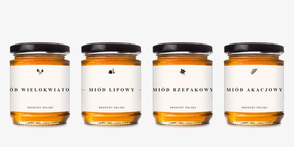 Honey Jars #packaging #typography