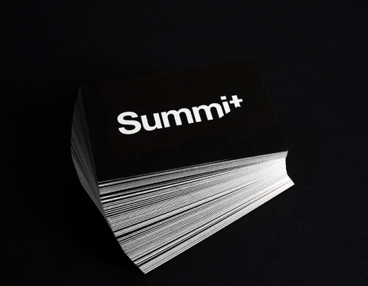 Joey Teehan Graphic Designer Dublin: Summit Conservation #business #card #print #teehan #joey #identity #stationery #logo