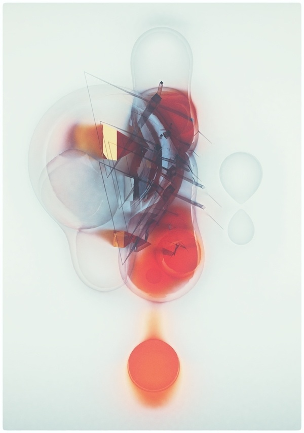 Glitch bubbles on the Behance Network #atelier #abstraction #bubbles #illustration #glitch #olschinsky