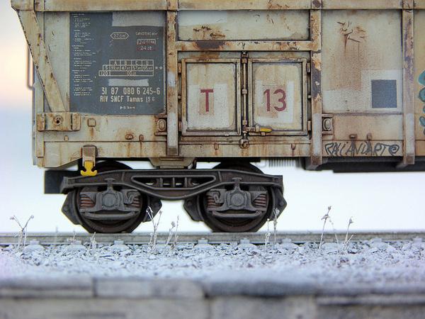 1:87 H0 Tamns Fret SNCF Graffiti 2 #train #model #diorama #photography #railway #miniature