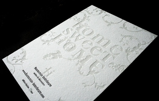 Graphic-ExchanGE - a selection of graphic projects #flourish #print #design #deboss #typography