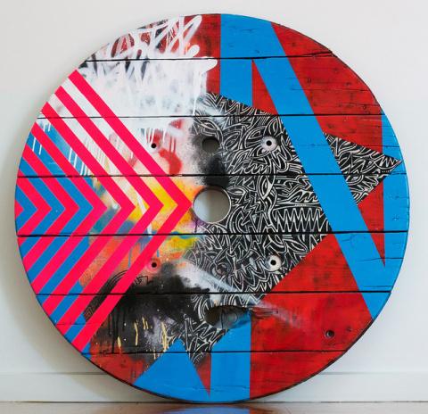 Ollie Lucas   PICDIT #design #color #painting #art #circle #colour