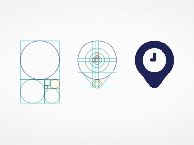 Dribbble - Time & Place by David Pache #icon