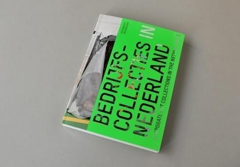 KUMMER & HERRMAN / Bedrijfscollecties in Nederland #diecut #bookdesign #neon