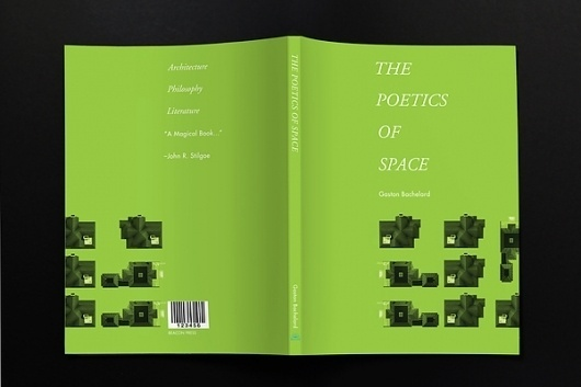 The poetics of space on the Behance Network #cover #editorial #architecture #book