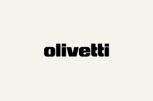 olivetti logo #logo #design