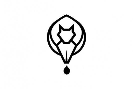 Logo Designs on the Behance Network #ink #icon #kelava #squirrel #image #writers #pen #logo #animal