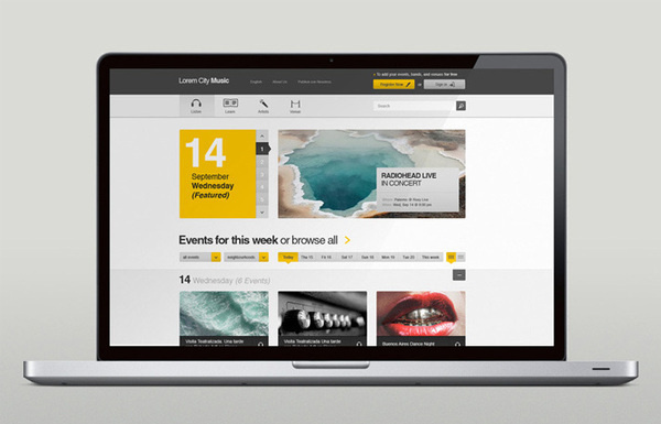 Martin Oberhauser | LUST NATION #yellow #design #travel #gray #web