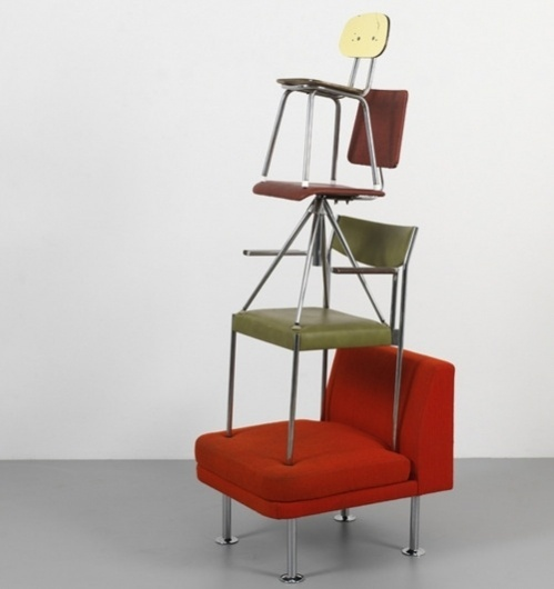 Every reform movement has a lunatic fringe #chair #totem #art #chairs