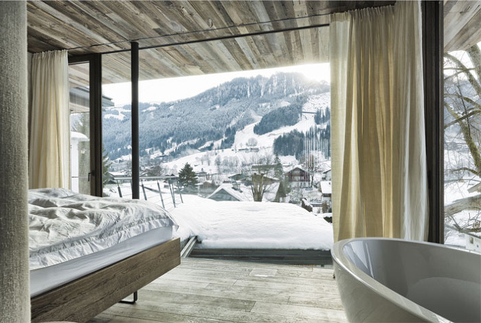 Kitzbühl Alps Integrated Into the Living Space