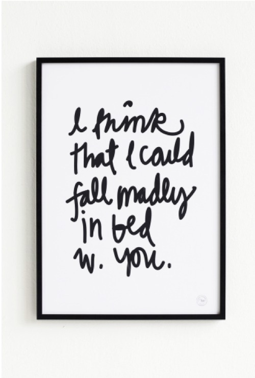 Madly in Bed By Therese Sennerholt | The Khooll #poster