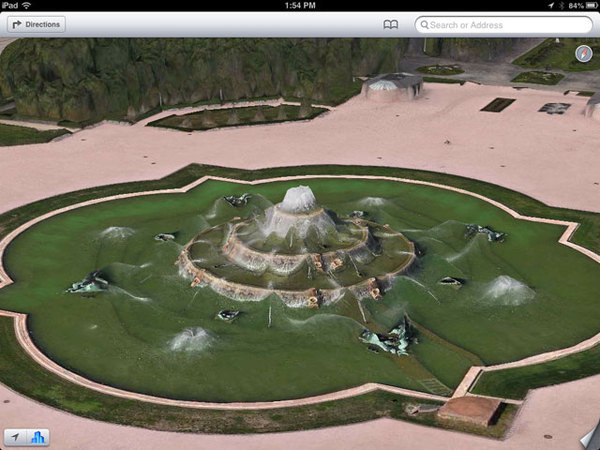 buckingham-fountain-640 #ios6 #apple #distortions #maps