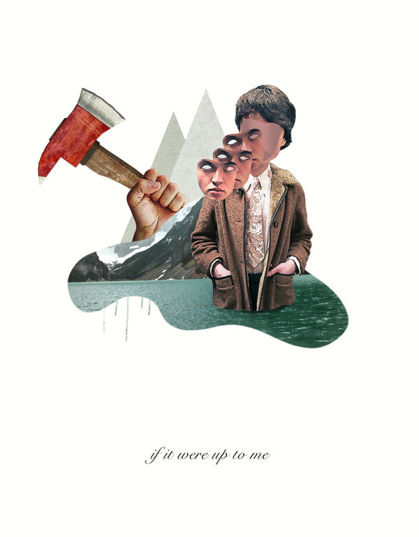 If it were up to me #modern #surrealism #vintage #art #collage
