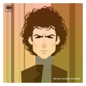 Stanley Chow Illustration Print Shop — Bob Dylan: Blonde on Blonde #music #illustration
