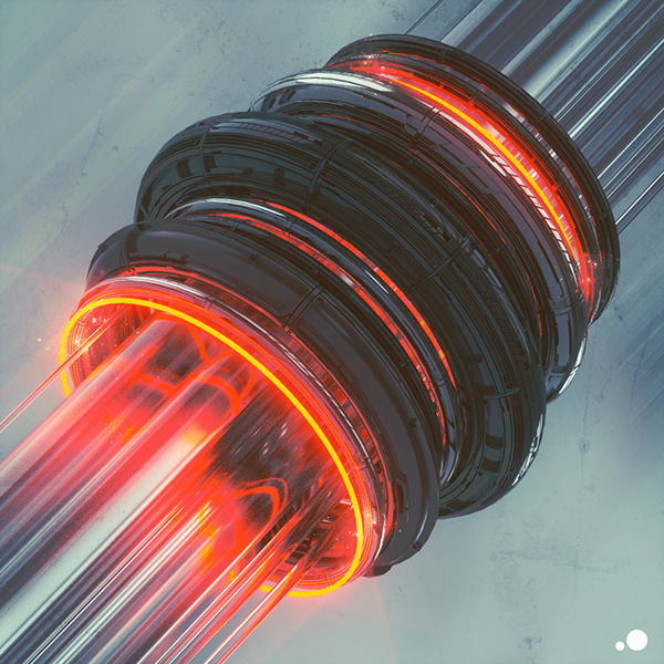 everydays - august 2014 Mike Winkelmann   Behance #tech #render #futuristic #fi #sci #3d