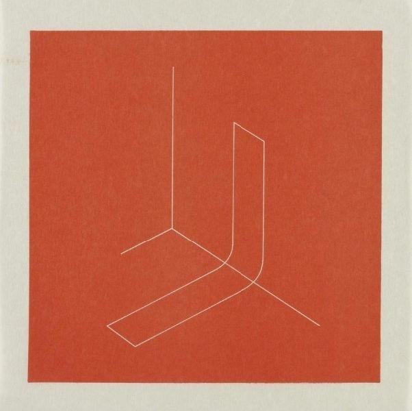 FRED SANDBACK Untitled (Jahn #73), 1979 lithograph