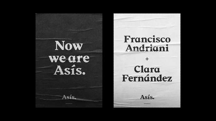 Now we are Asís. on Behance