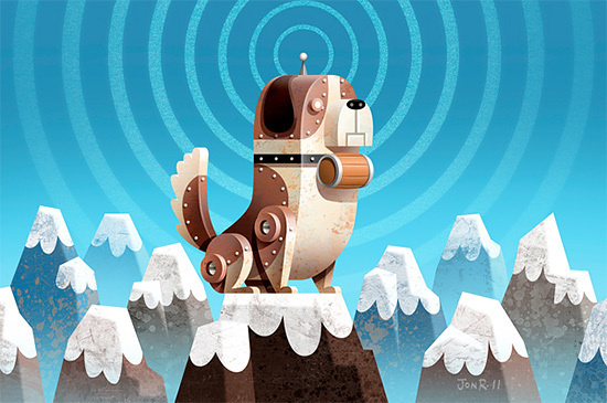 Recent Animation Characters Illustrations by Jon Reinfurt #animation #design #graphic #illustrations #character
